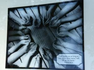 Auction item - Photograph of children's hands
