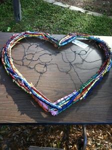 Auction item - heart