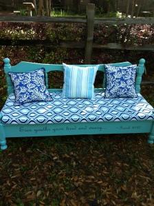 Auction item - Child's bench