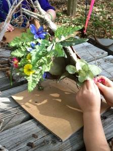 Making a fairy house