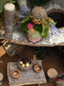 Auction item - close up of of Fairy House