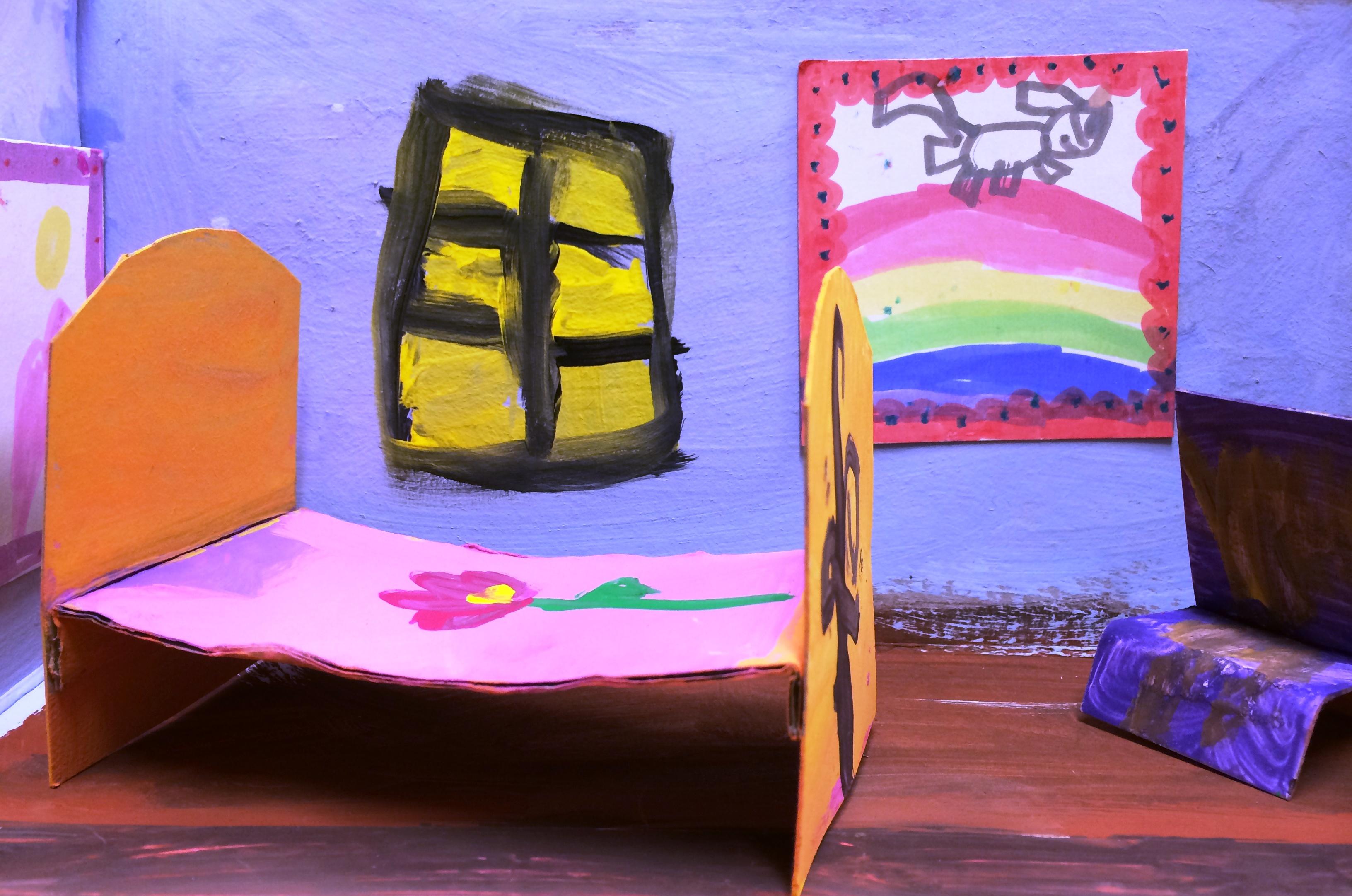 Shoebox Bedroom Van Goghs Bedroom In 3d Acorns To Oaks Art At Shady Oak