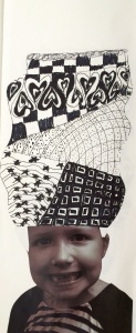 Zentangle Heads